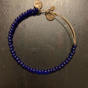 Lot of four(4) beaded Alex and Ani bracelets